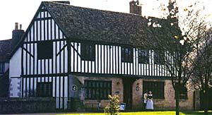 Oliver Cromwell's house.